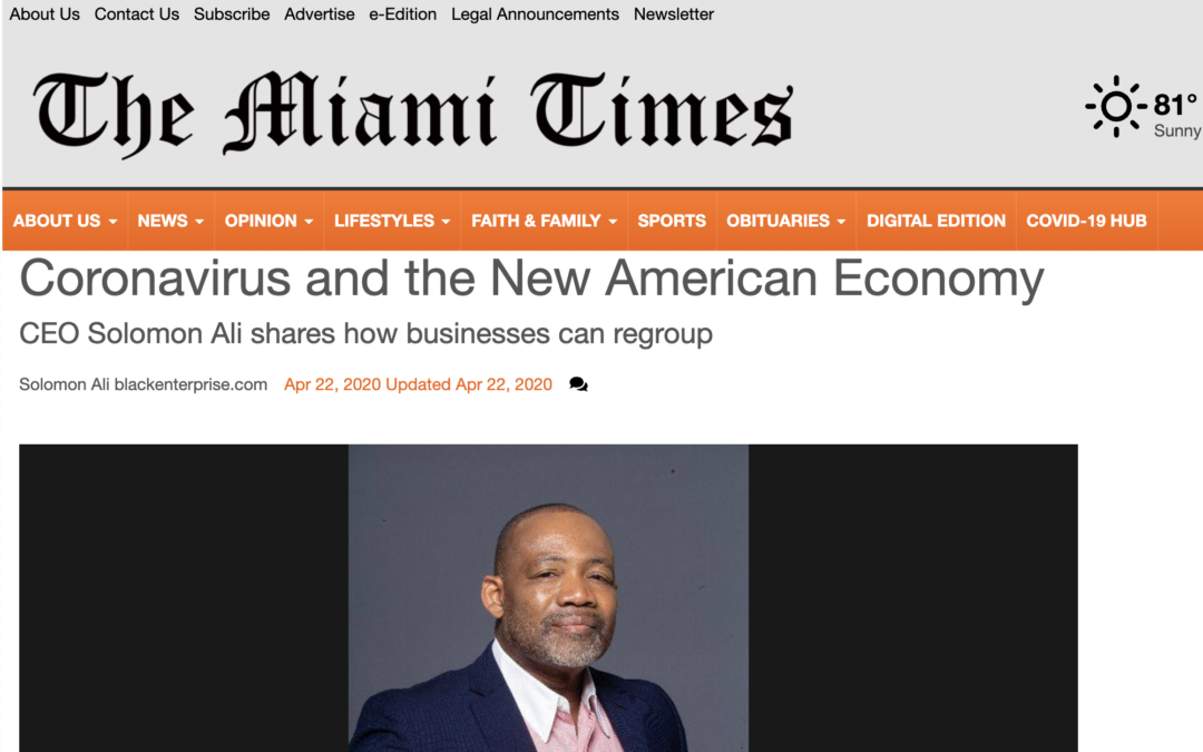 The Miami Times April 2020